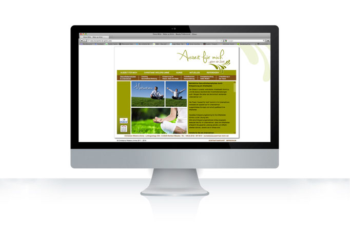 Konzept, Design, Koordination indiviuelle Website in CMS - WordPress