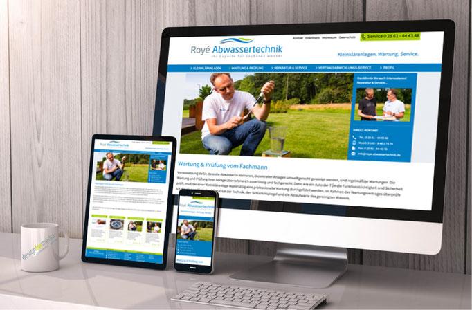 Konzeption, Webdesign, Inhalt, Responsiv Design, Unternehmensfotografie