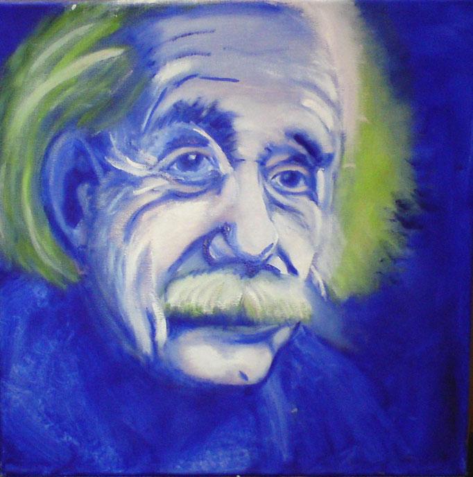 A. Einstein, blau