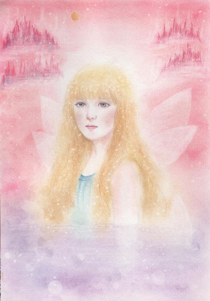 天使画/きれい系天使