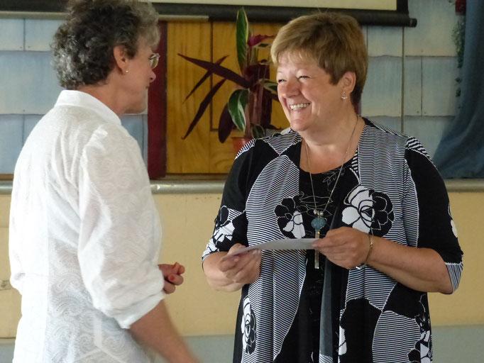 Remerciments à la conférencière Mme. Johane Boucher.