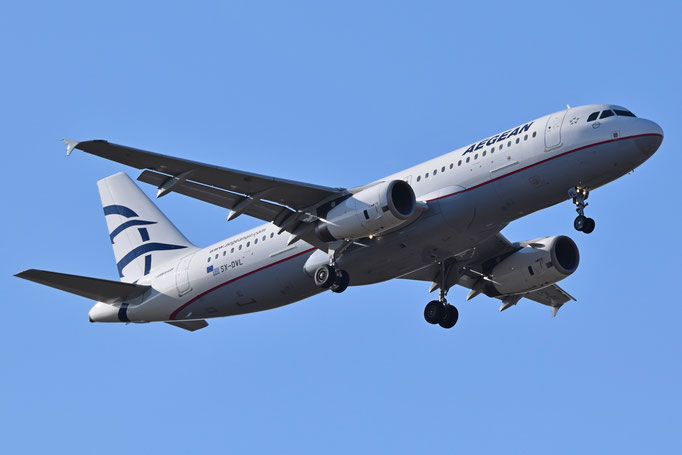 Aegean Airlines --- SX-DVL --- A320-232