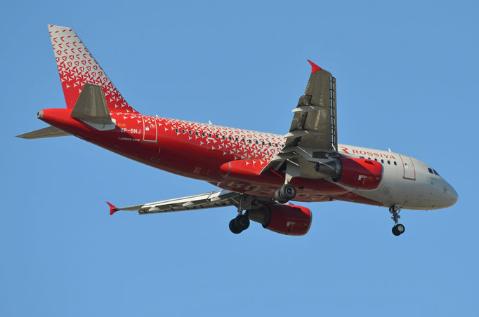 Rossiya Russian Airways --- VP-BNJ --- A319-111