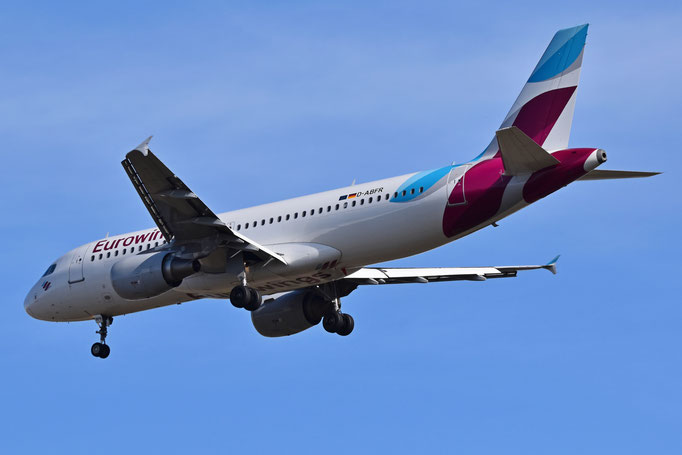 Eurowings --- D-ABFR --- A320-214