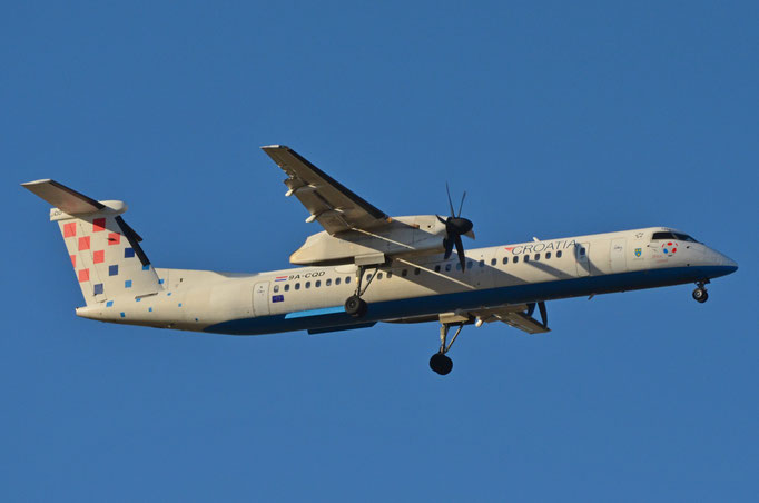 Croatia Airways --- 9A-CQD --- Dash DHC 8 - 402