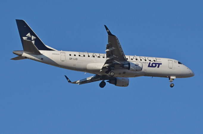LOT Polish Airlines --- SP-LIO --- Embraer ERJ 175 LR