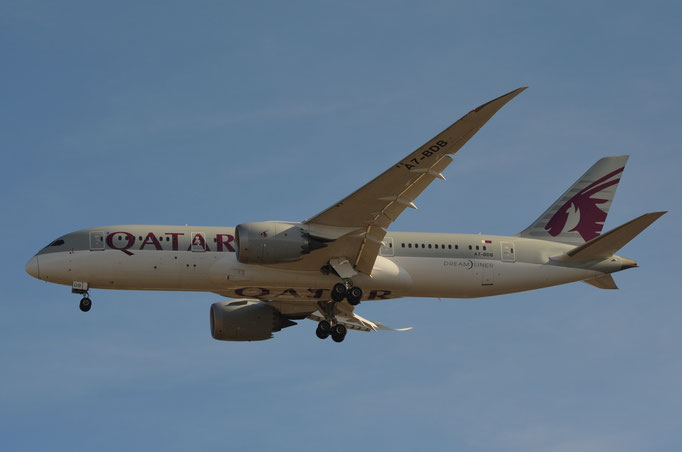 Qatar Airways --- A7-BDB --- B787-8 Dreamliner
