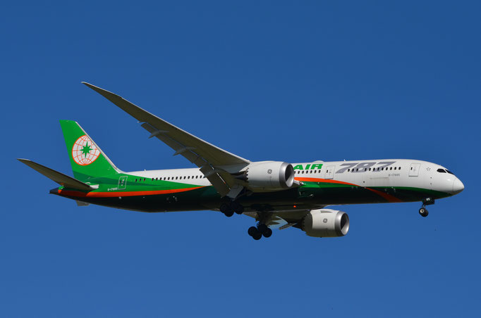 Eva Air --- B-17885 --- B787-9 Dreamliner