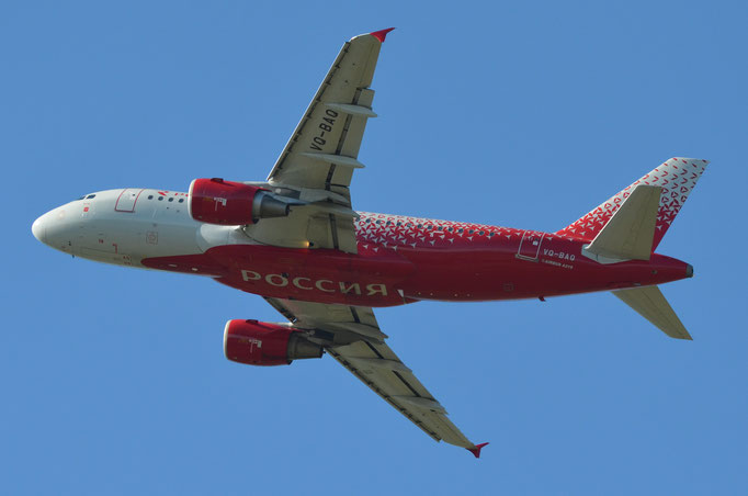 Rossiya Russian Airlines --- VQ-BAQ --- A319-112