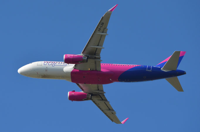 Wizz Air --- HA-LSB --- A320-232W