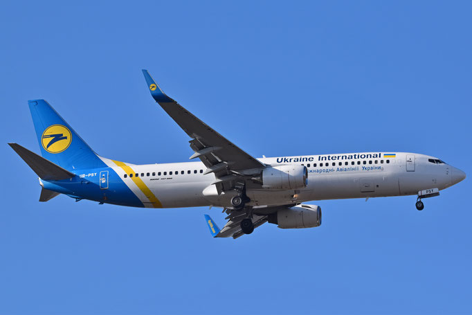 Ukraine International --- UR-PSY --- B737-8EHW