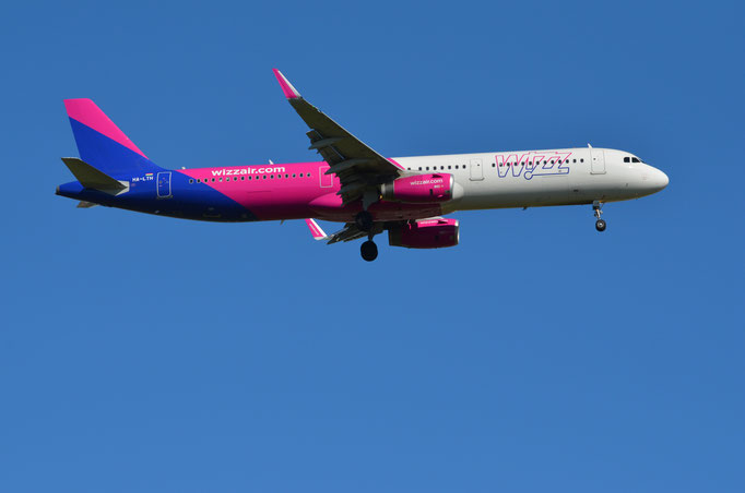 Wizz Air --- HA-LTH --- A321-231