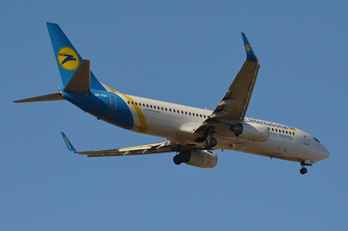 Ukraine International --- UR-PSV --- B737-8ASW