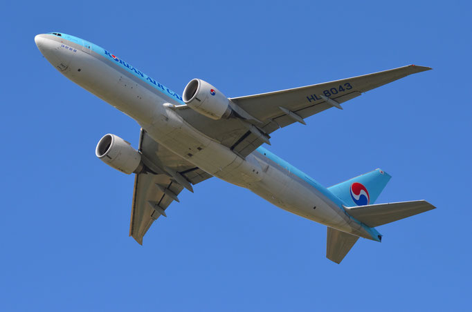 Korean Air Cargo --- HL-8043 --- B777-FB5