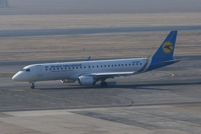 Ukraine International --- UR-EME --- Embraer ERJ190STD