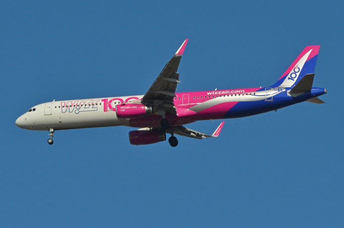 Wizz Air --- HA-LTD --- A321-231W