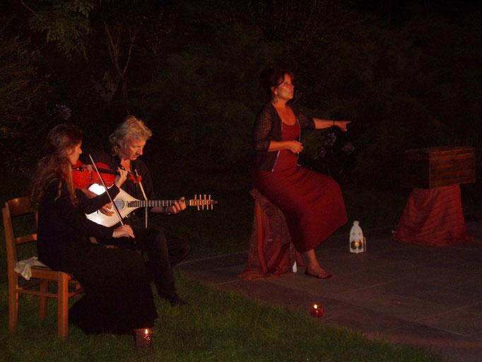 LA FILLE AU SERPENT , Contes au Village, Coti - Chiavari, avec Dume OTTAVI et Vanessa CAHUZAC