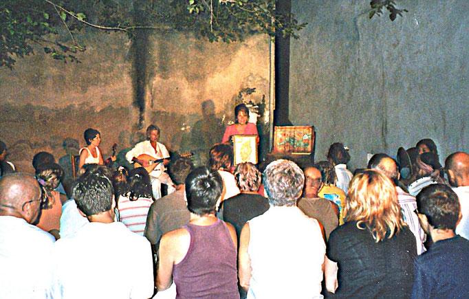 LE CHANT DU COQUILLAGE, Mare in Festa, Luri, avec Dume OTTAVI et Vanessa CAHUZAC