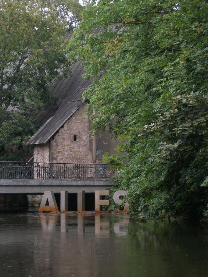Alles im Fluss I, Stahl, 2007
