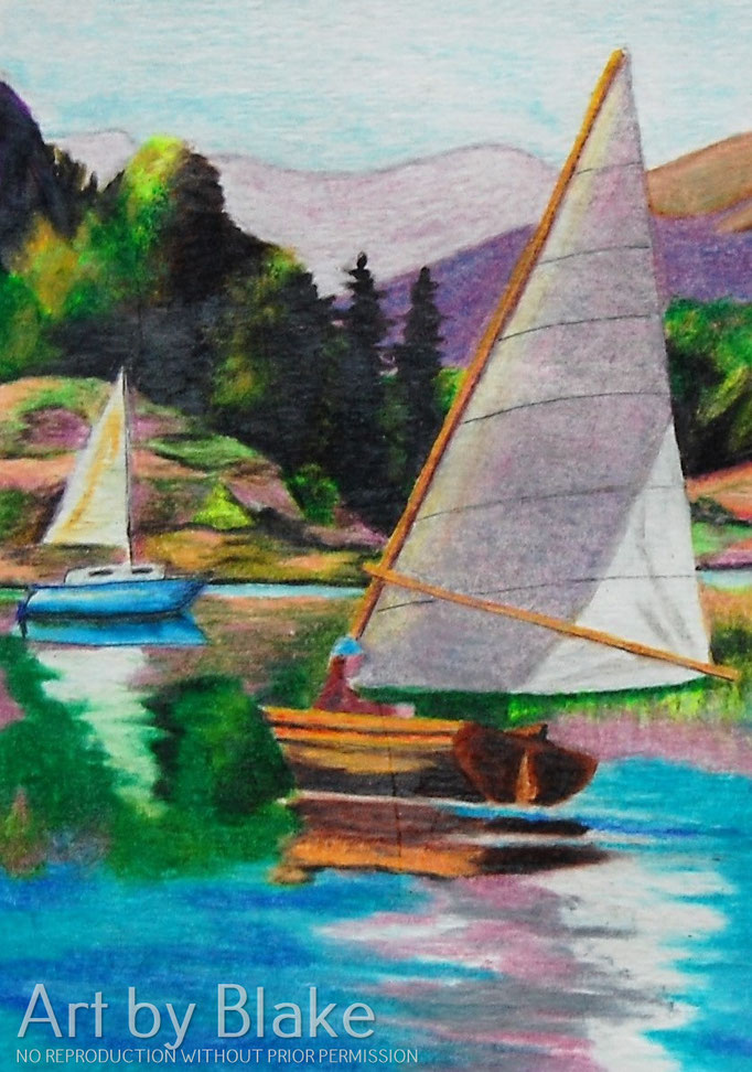 'Sailing Ship' by Blake 2014