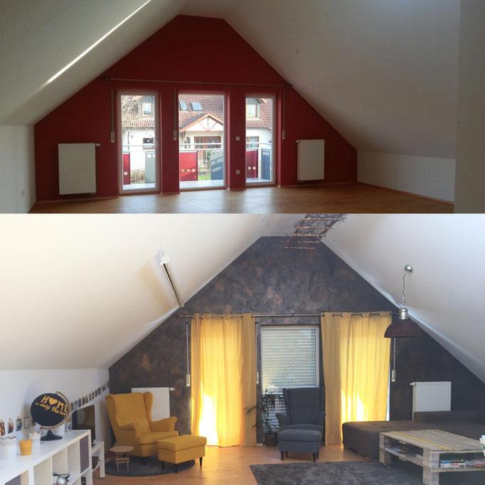 Umgestaltung meiner Wohnung