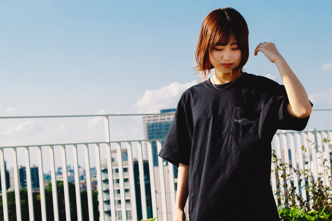 【Thank you,SOLD OUT!!】<br>■NEW LOGO POCKET T-SHIRT<br>[BLACK]