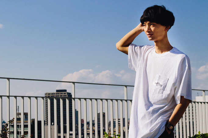 【Thank you,SOLD OUT!!】<br>■NEW LOGO POCKET T-SHIRT<br>[WHITE]