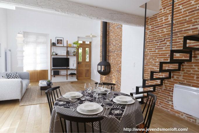 vente appartement T2 Loft Duplex Carmes Dalbade Toulouse