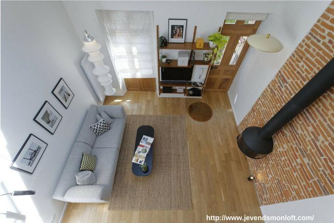 vente appartement Loft Duplex Carmes Dalbade Toulouse
