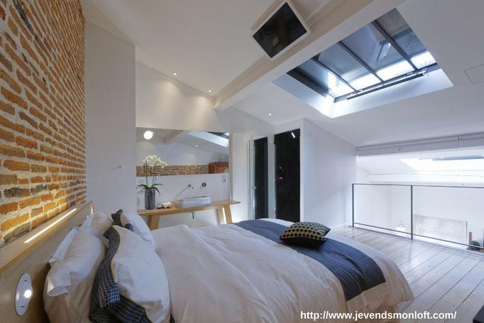 Particulier vend appartement Loft Duplex Carmes Dalbade Toulouse