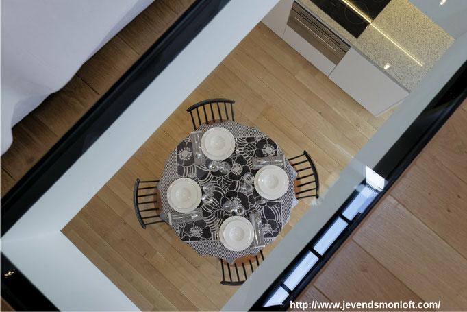 A vendre appartement T2 Loft Duplex Carmes Dalbade Toulouse