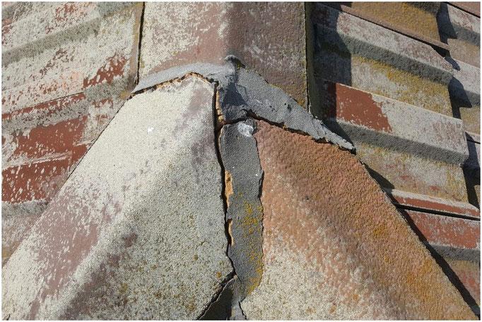 Crack ridge capping