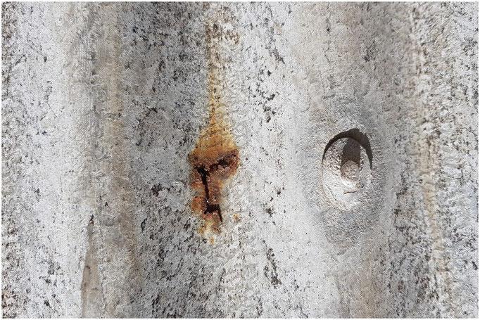 Rust corrugated sheet
