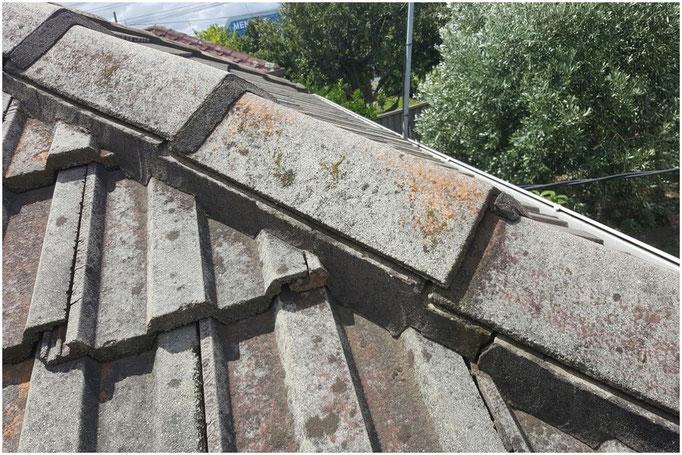 Loose ridge capping