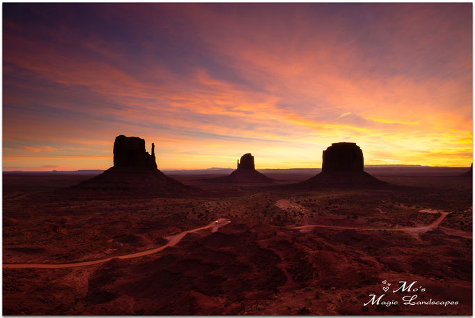 """Monument Valley Sunrise"" (2015)"