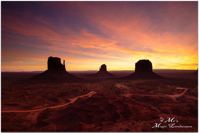 """Monument Valley Sunrise"" (2015)"