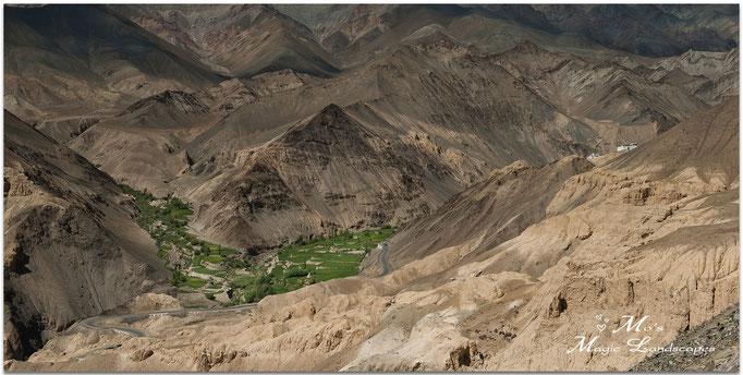 """""""Lamayuru Valley and Monastery"""" (2014)"""