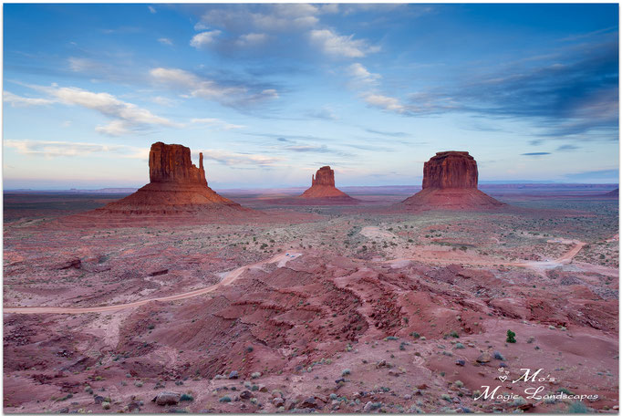 """""""Monument Valley at Dawn"""" (2015)"""