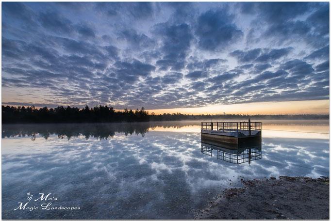 """""""Clouds over the Lake Reindersmeer"""" (2015)"""