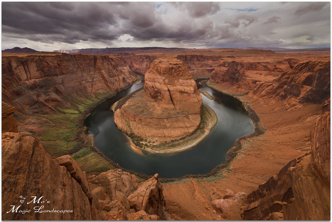 """Dark Clouds over Horseshoe Bend"" (2012)"