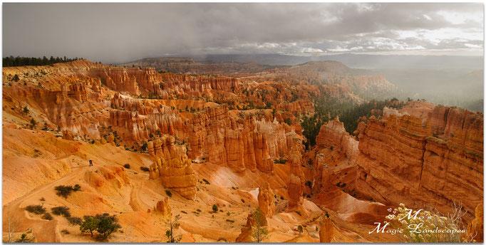 """""""Rain over Bryce Canyon"""" (2015)"""