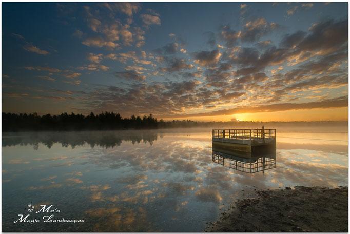 """""""Lake Reindersmeer Sunrise"""" (2015)"""