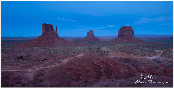 """""""Blue Sky over Monument Valley"""" (2015)"""