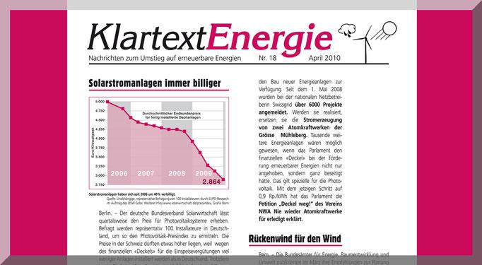 Layout + Redaktion Vereinszeitung