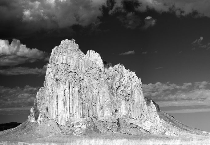 Shiprock Mountain, New Mexico