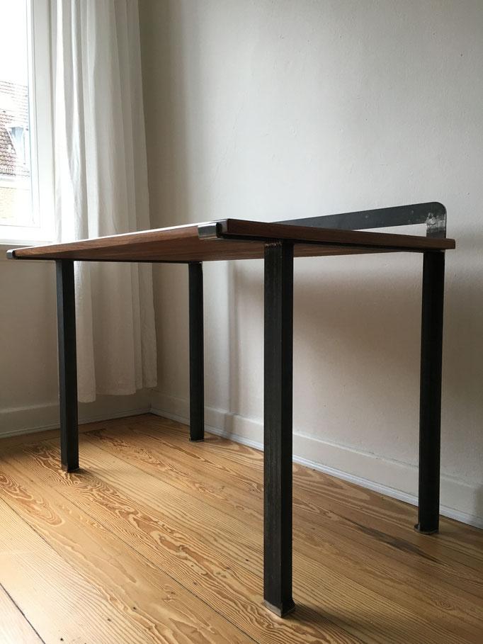 Tischgestell für vorhandene Tischplatte (Stahl roh; 2019)