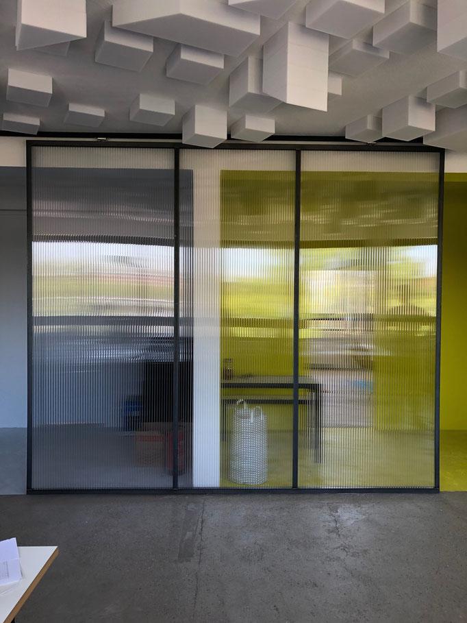 """Schiebetür;  Architekturbüro """"Urban Futur Developent"""" (2019)"""