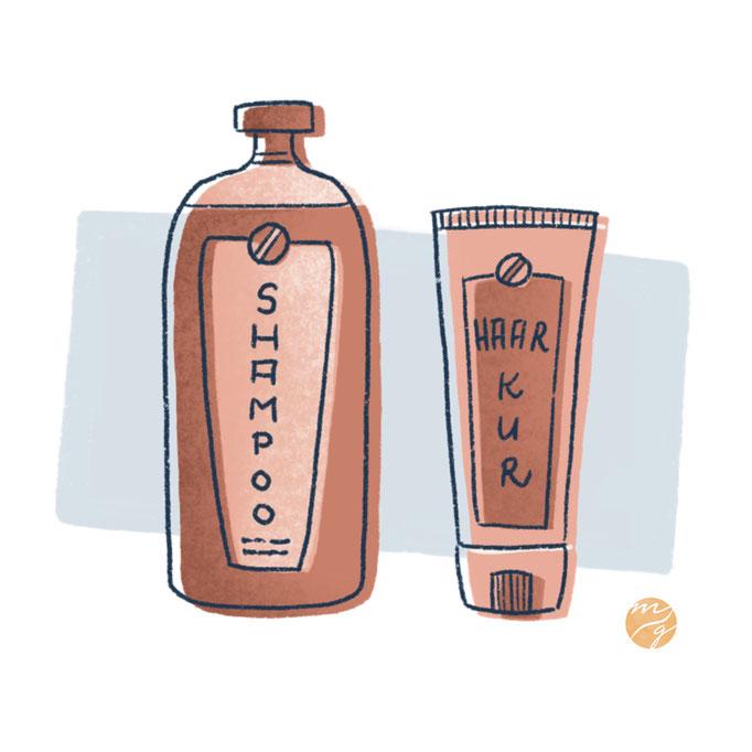 Illustration / Editorial / Shampoo