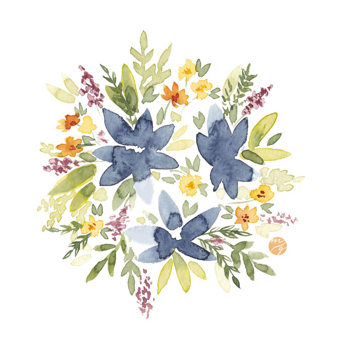 Loosefloralwatercolor