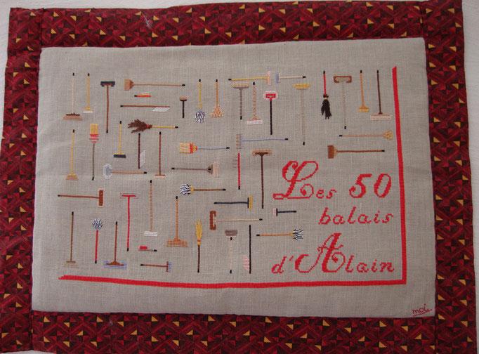 Les 50 balais d'Alain - ©dr